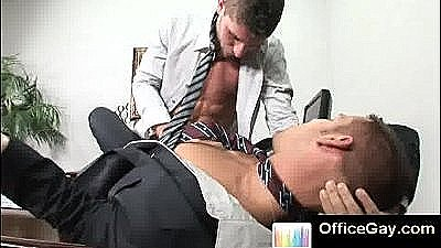 Studs Get Naked At The Office And Make Love
