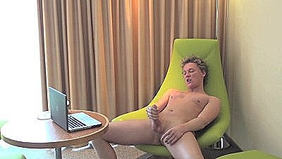Blond Twink Philippe Delvaux Fisting