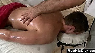 Guy Gets Gay Massage From Sexy Bear