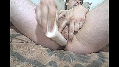 8 Inch Dildo Deep In My Ass