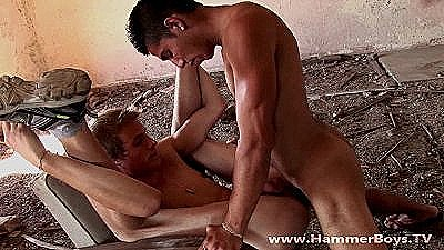 Gypsy Vs Blond Hard Fuck Hammerboys