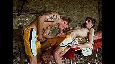 Hot Gay Porn In Ruined Building From Hammerboys Tv