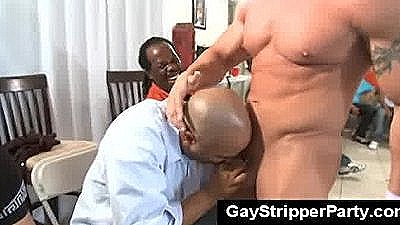 Muscle Gay Strippers And Wild Gay Audience
