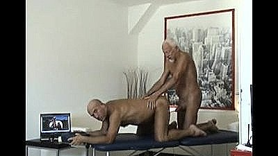 Two Old Homems In Erotic Massage