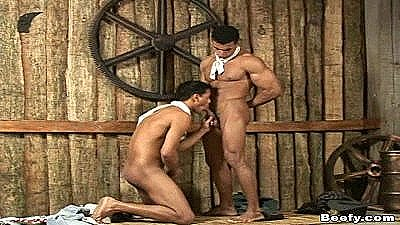 Muscled Cowboys Fucking