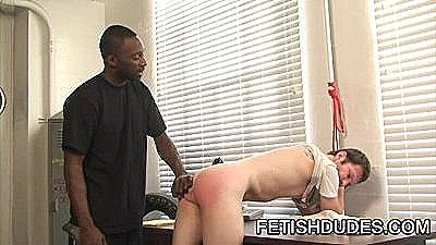 Hot Boi And Luke Cross - Black Dude Spanking A White Ass