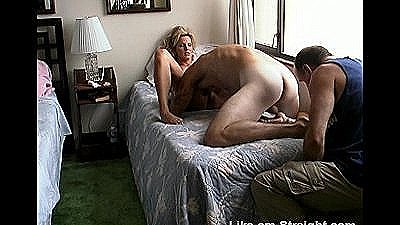 I Rim A Str8 Marine As He Eats And Then Fucks A Blond Babe`s Pussy.
