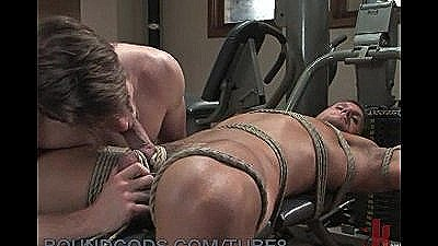 Gym Closed Due To Hot Cock Bondage