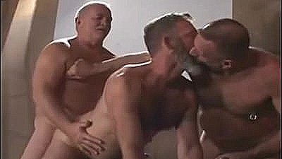 Older Men In A 3some Gay Porn Gays Gay Cumshots Swallow Stud Hunk