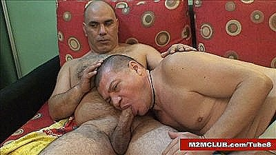Str8 Mature Bear Barebacking