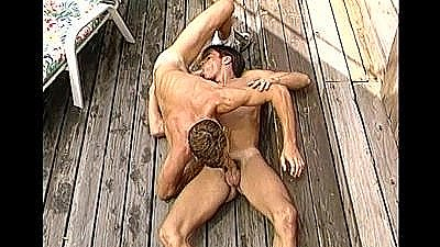 Horny Big Dicked College Jocks - Scene 8