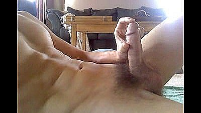 Hot Guy Cums On Himself