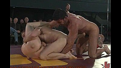 Live Intense And Hot Sexual Wrestling Match
