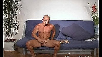 Shaved Head Str8 Latino Muscle Boy Fucks My Face.