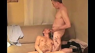 Bareback Hairy Muscular Men Go At It