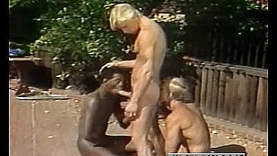 Vintage 1980s Interracial Threeway And Twink Voyeur - Student Bodies