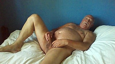 Horny Old Man Waite To Be Use