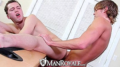 Hd - Manroyale Max Gets Pounded By Morgan Before Morgan Explodes
