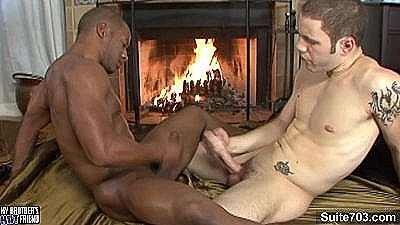 Black Gay Gets Fucked Hard