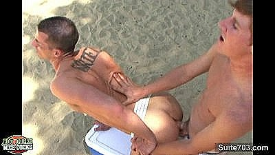 Sexy Gays Fuck And Cum Outdoors