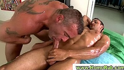 Straight Boy Fucking Hunky Gay Masseuse