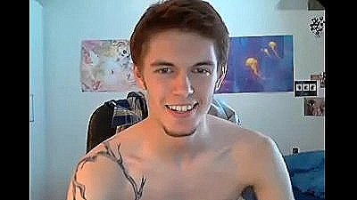 Half Danish Boy Showing On Cam In The U.s.a   Gay Talk Show 1