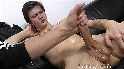 Young Boy - Handjob With Oil