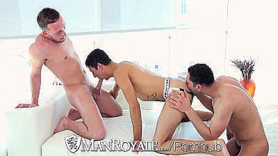 Manroyale - Threeway Fuckfest With Billie Ramos Davey Anthony   Josh Nelson