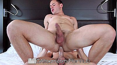 Gayroom - Hot Dylan Knight Edges And Fucks Brenner Bolton