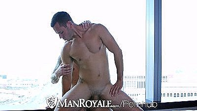 Manroyale - Damien Michaels Makes Love To Brenner Boltons Ass