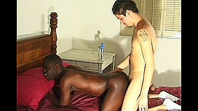 Black Cocksucker Loves Latino`s Dick