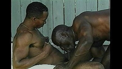 Four_black_guys_fucking_out_back