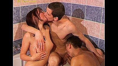Young Bisex Threesome Teens