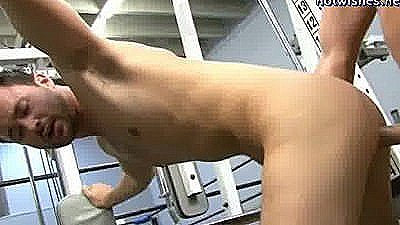 Two Gays Having Anal Sex At The Gym