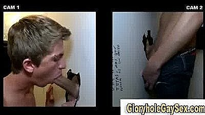 Young Straight Man Duped At Gloryhole