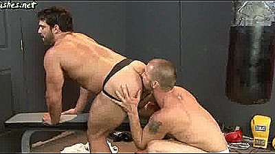 Two Gay Boxers Licking Their Asshol