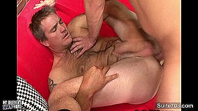 Sexy Gay Gets Ass Licked And Banged