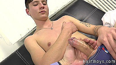 Czech Casting - Cute Boy - Handjob