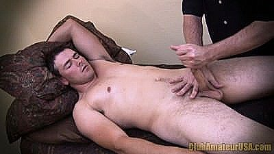1st Sexual Massage By Another Man