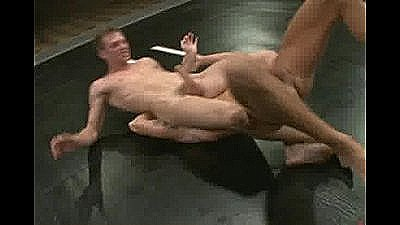 Two Hot Studs Give Their All In A Fight For Sexual Domination.