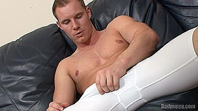 Cock Rub And Workout
