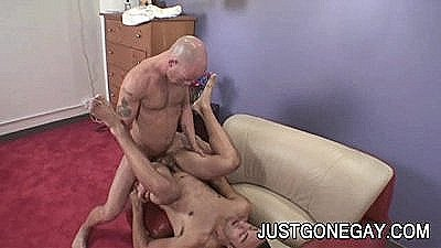 Italian Hunk Giovanni Fucked By Bald Guy
