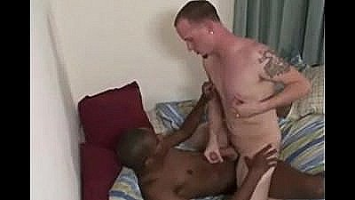 Black Man Gets His Dick Wet By A White Dude