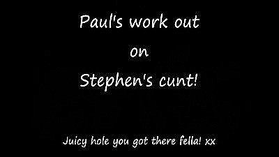 Paul Works Out In Stephen.