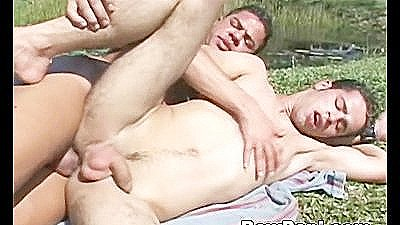 Muscled Hot Gays Anal Sex In Public