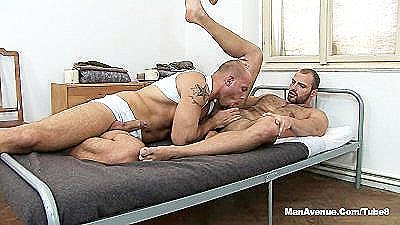 Meathead And Muscle Guys Sucking And Fucking