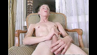 Irish Boy Jerks His Cock