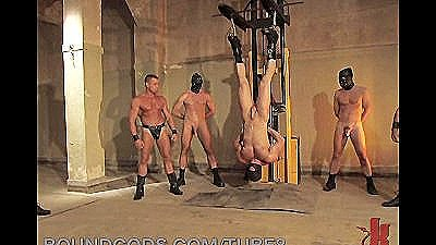 Aggressive Gay Bondage