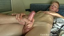 18 Boy - Handjob In Prague - Cumshot!