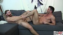 Sebastian Keys And Lance Hart Foot Fest Gay Foo...
